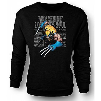 Kids Sweatshirt Wolverine - Lost Soul - Comic Hero
