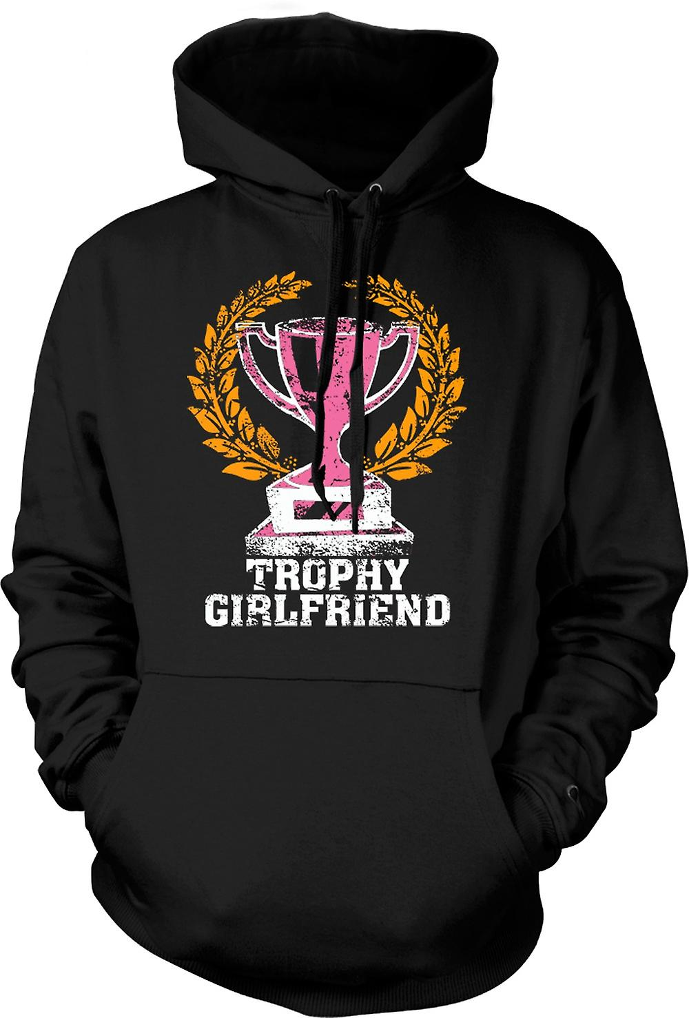 Mens Hoodie - Trophy Girlfriend - Funny