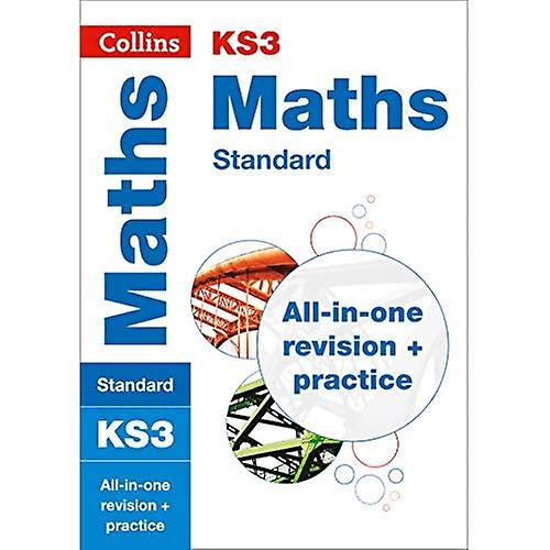 ks3 maths  standard   all-in-one revision and practice  collins ks3 revision and practice