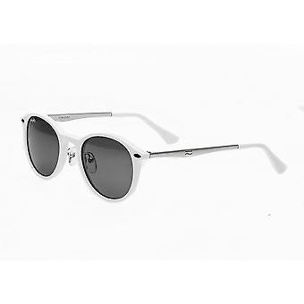 Simplify Reynolds Polarized Sunglasses - White/Black