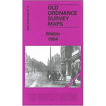 Bilston 1884: Staffordshire Sheet 62.16 (Old Ordnance Survey Maps of Staffordshire)