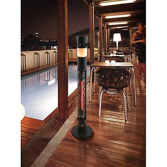 Schuller Outdoor Patio Heater With Bluetooth Speaker And Light