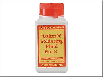 Bakers No.3 Soldering Fluid 125ml