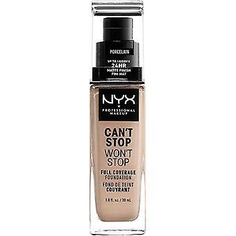 NYX Prof. MAKEUP can't Stop won't Stop Foundation Porcelain
