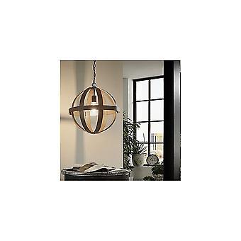 Eglo Westbury Rustic Iron Ball Ceiling Light Pendant