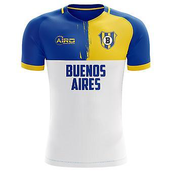 2019-2020 Boca Juniors lager koncept fodbold Shirt