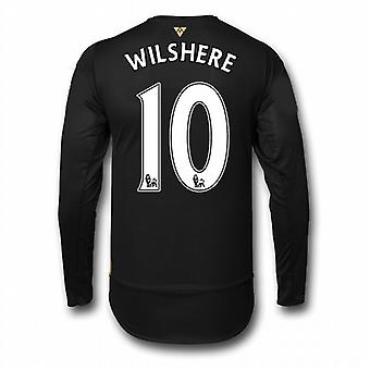 2015-16 Arsenal 3rd Cup Long Sleeve Shirt (Wilshere 10) - Kids