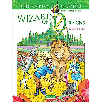 Creative Haven Wizard of Oz Designs Coloring Book by Marty Noble - 97