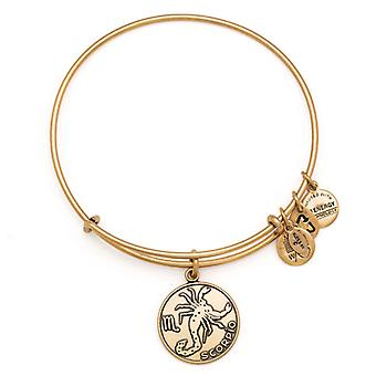 Alex en Ani Schorpioen goud Bangle A13EB01SCRG