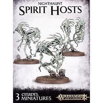 Atelier Jeux - Warhammer Age of Sigmar - Nighthaunt Spirit Hosts