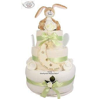 Guess How Much I Love You® Baby Nappy Cake (three tier)