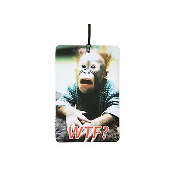 WTF Monkey Car Air Freshener
