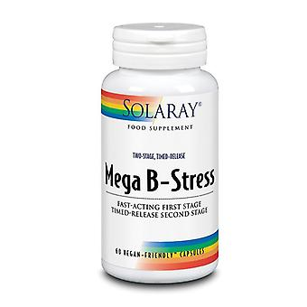 Solaray Two-Stage Mega B-Stress Capsules 60 (87807)