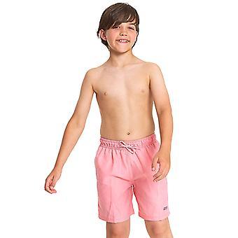 Zoggs Boys Mosman gewaschen Badeshorts - Rosa