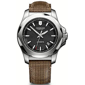 Victorinox Stainless Stainless Watch for Analog Men Quartz With Cowhide Bracelet V241836