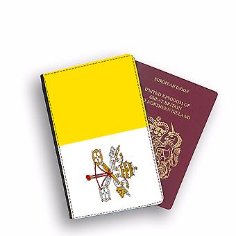 VATICAN CITY Flag Passport Holder Style Case Cover Protective Wallet Flags design