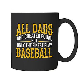 Fineste Dads spil baseball Sports krus | Fodbold rugby hockey basketball baseball boksning | Ideal top bedste særlige No1 Fader mand Grandad | Fars dag Cup gave