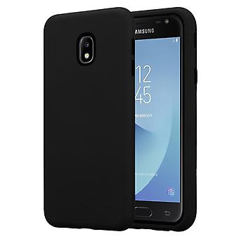 Cadorabo Case for Samsung Galaxy J5 2017 Case Cover - Hybrid Phone Case with TPU Silicone Inside and 2-Piece Plastic Outside - Protective Case Hybrid Hardcase Back Case