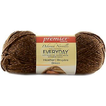 Deborah Norville Everyday Soft Worsted Heather Yarn-Cocoa DN110-7