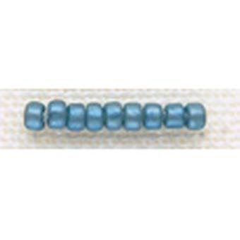 Mill Hill Glass Beads Size 8 0 3Mm 6.0 Grams Pkg Cadet Blue Gbd8 18046