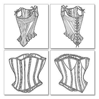 Misses' Stays And Corsets  18  20  22 Pattern B4254  180