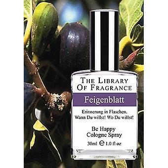 The library of fragrance fig leaf 30ml