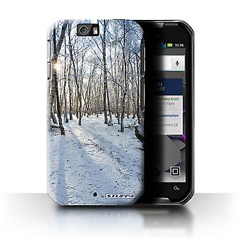 STUFF4 Case/Cover for Motorola IronRock/XT626/Snowy Forest/Winter Season