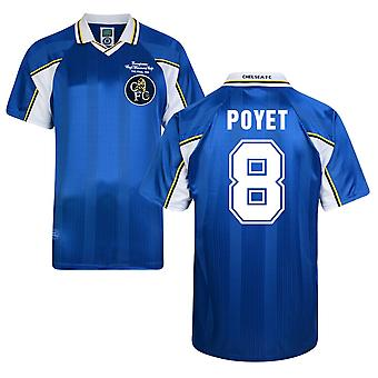 Score Draw Chelsea 1998 Home Shirt (Poyet 8)