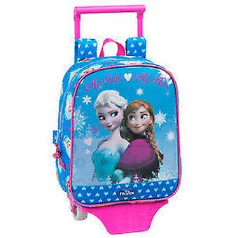Safta Frozen Backpack With Trolley (Toys , School Zone , Backpacks)