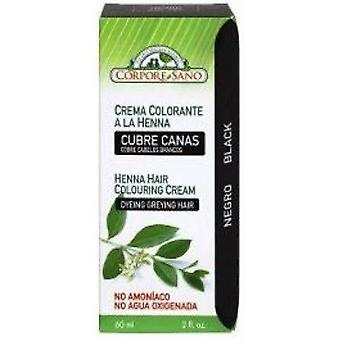 Corpore Sano Black Henna Colouring Cream 60ml