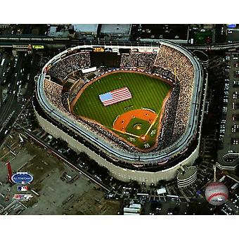 Aerial view of the Current & future Yankee Stadium during the 2008 MLB All-Star Game Photo Print