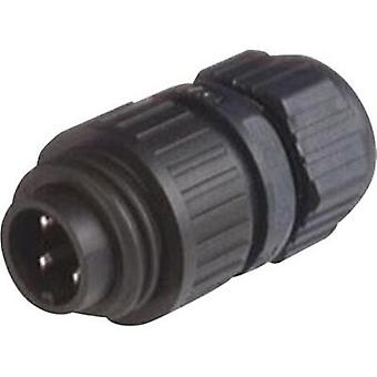 Hirschmann 934 124-100 CA 3 LS CA Series Mains Voltage Connector Nominal current: 16 A/AC/10 A/DC Number of pins: 3 + PE
