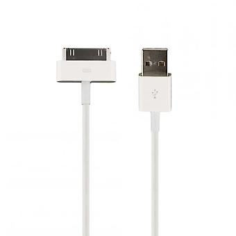 Original Apple MA591 charger cable 30pin for iPad 3 iPad 2, 2 x glossy screen protector