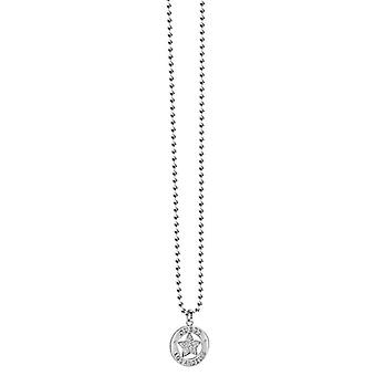 Guess dames ketting ketting edelstaal zilver UBN21605
