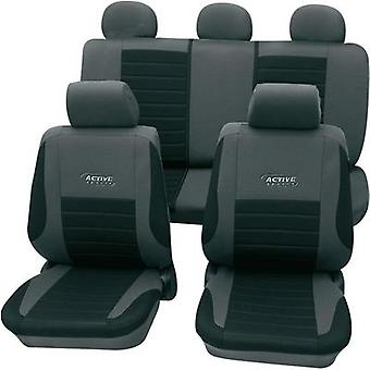 Seat covers 11-piece cartrend 60122 Active Polyest