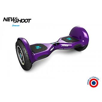 hoverboard spinboard © x cross deep purple