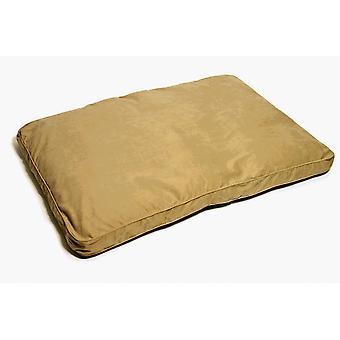 Suede Box Bed Latte Midi