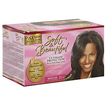 Soft & Beautifull S & B Relaxer Kit Regular (Woman , Hair Care , Treatments , Volume)