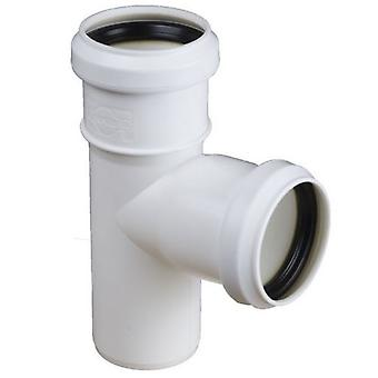 Sewage Installation Tee Connector Joint Various Pipe Diameters and Angles