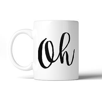 O Keramik Kaffeebecher 11 oz Geschirrspüler sicher mikrowellentaugliches Geschenkidee