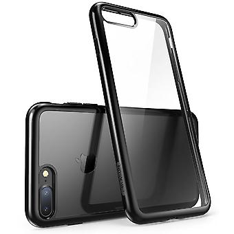 i-Blason iPhone 7 Plus Case, Scratch Resistant, i-Blason Clear Halo Series for Apple iPhone 7 Plus 2016 Release-Black