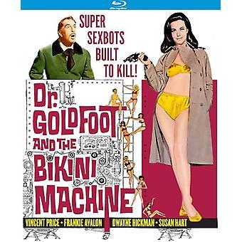 El Dr. Goldfoot y la importación de los E.e.u.u. máquina de Bikini [Blu-ray]