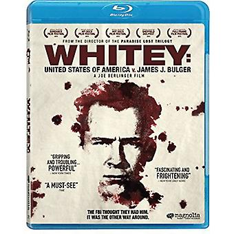 Whitey : importer des États-Unis V James J Bulger [BLU-RAY] é.-u.