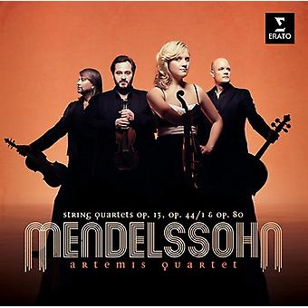 Mendelssohn - String Quartets [CD] USA import