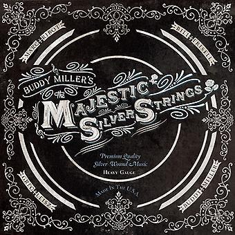 Buddy Miller - majestätiska Silver strängar [CD] USA importera