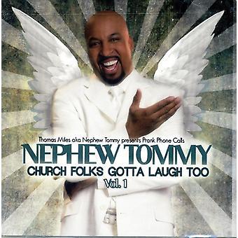 Nevø Tommy - kirken folk Gotta grine også 1 [CD] USA import