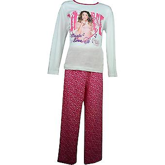 Mädchen Disney Violetta Long Sleeve Pyjama Set OE2219