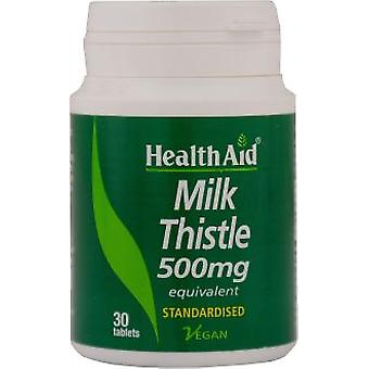 Health Aid Milk Thistle Herb and Seed 30comp. (Diet)