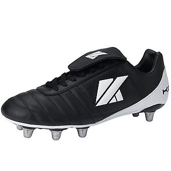 KOOGA classico CS-4 Low Cut Soft Toe Scarpini Rugby [nero]