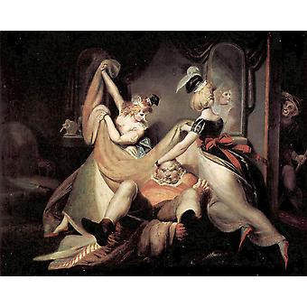 Henry Fuseli - Sheets Poster Print Giclee